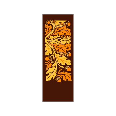 30 x 60 in. Seasonal Banner Oak Leaves & Acorns