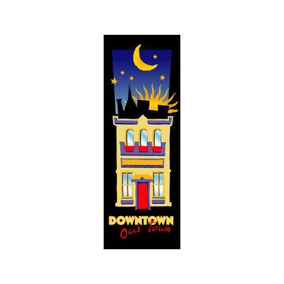 30 x 60 in. Seasonal Banner Art Deco Downtown