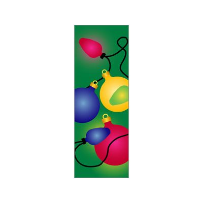 30 x 60 in. Holiday Banner Holiday Ornaments
