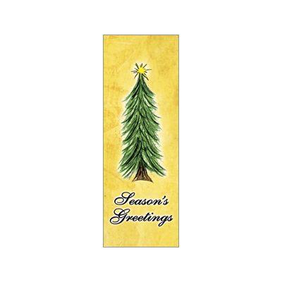 30 x 60 in. Seasonal Banner Torn Paper Tree