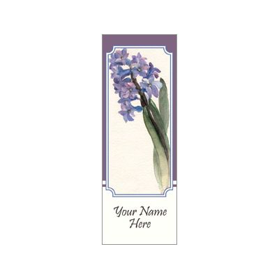 30 x 84 in. Seasonal Banner Watercolor Hyacinth