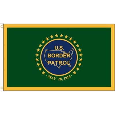 3 ft. x 5 ft. US Border Patrol Flag Outdoor
