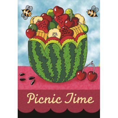 Picnic Time House Flag