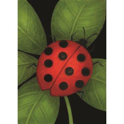 Ladybug House Flag