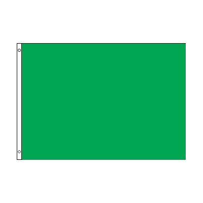 29.25 in. x 39 in. Green Warning Flag