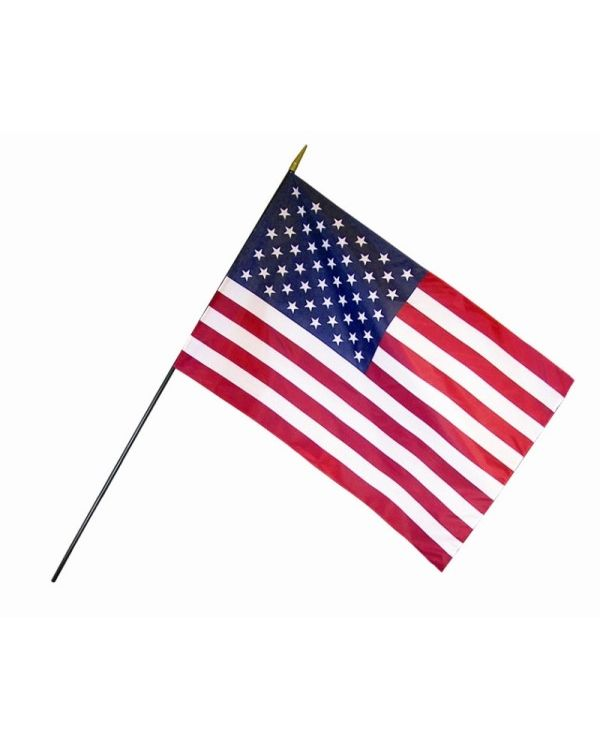 U S Classroom Flags 16 X 24 In 12 Pack