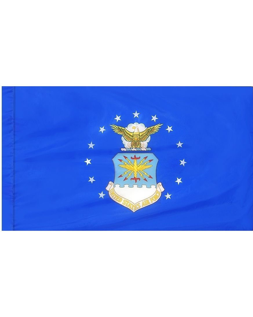 5ft  x 8ft  Air Force Flag DBL Indoor Display